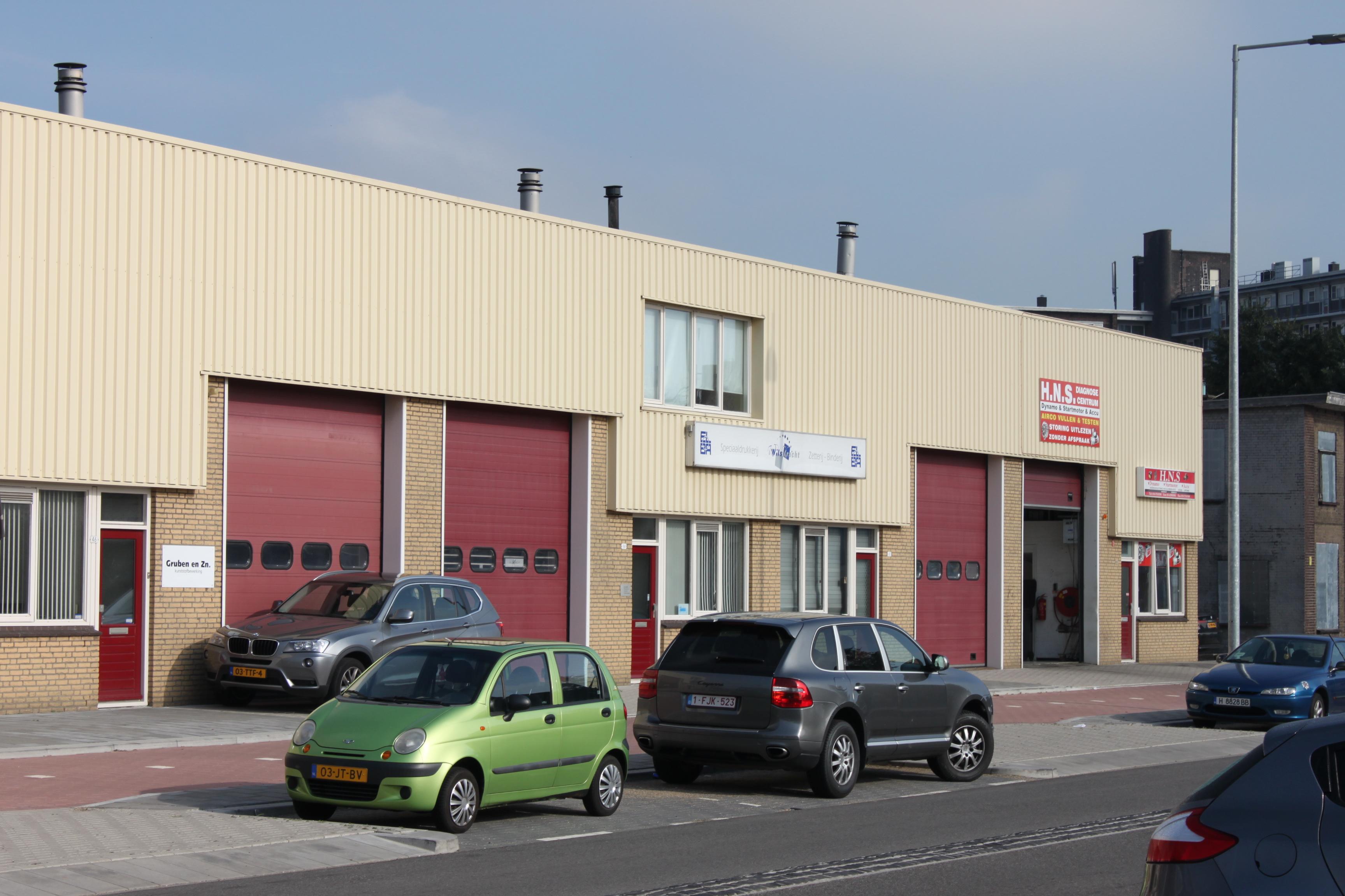 Bedrijfsruimte Schiedam van Deventerstraat 44