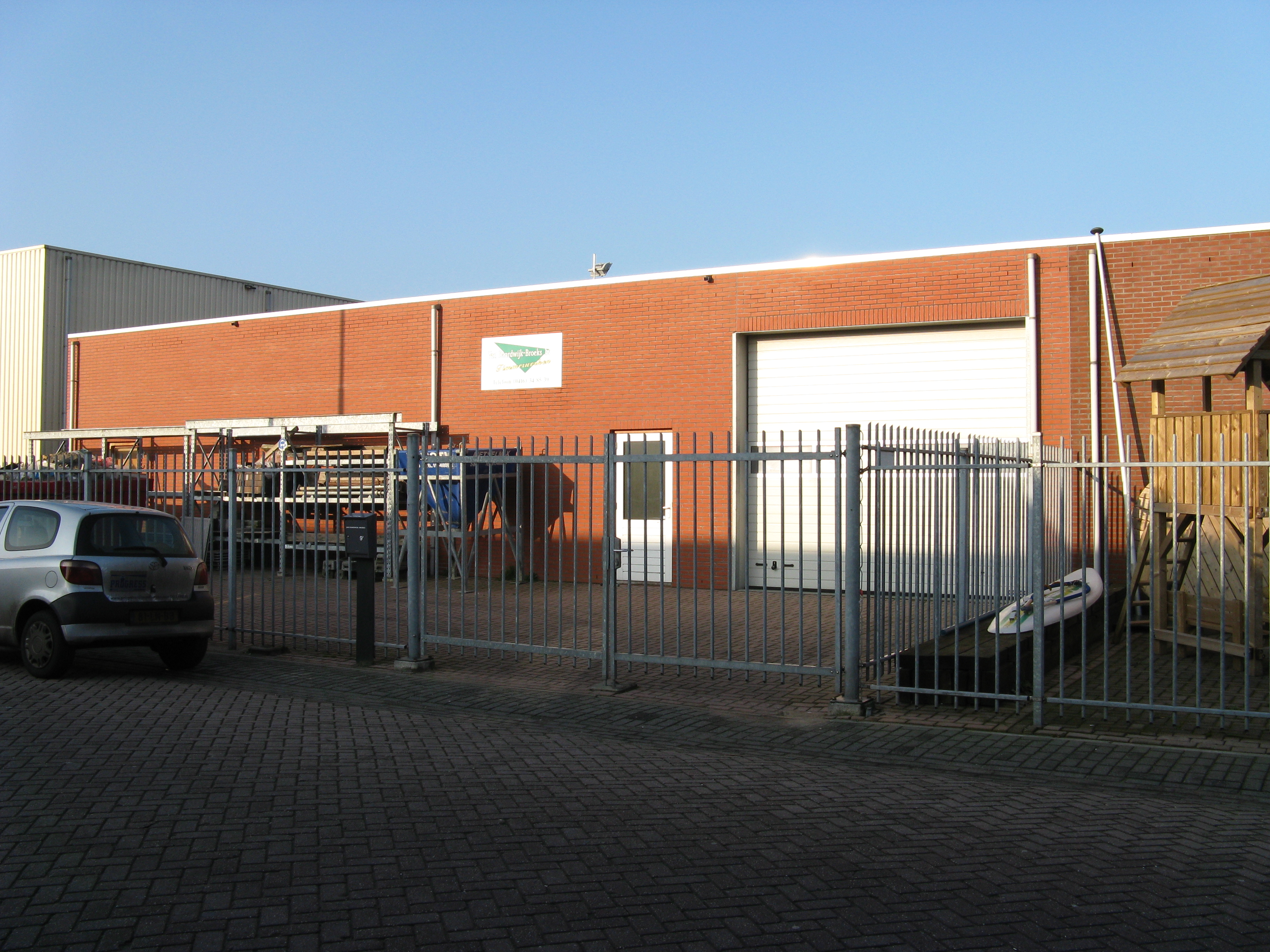 Bedrijfsruimte Sprang-Capelle Tinus van der Sydestraat 9a